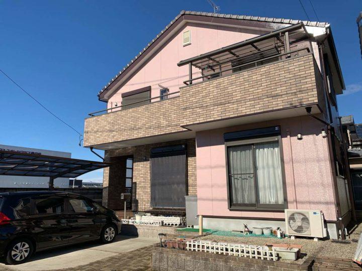 春日井市H様邸外壁塗装工事・コーキング打ち替え、打ち増し工事・ベランダ防水工事