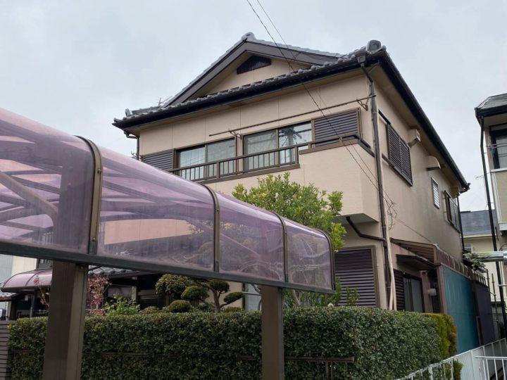 春日井市K様邸外壁塗装工事・屋根漆喰工事