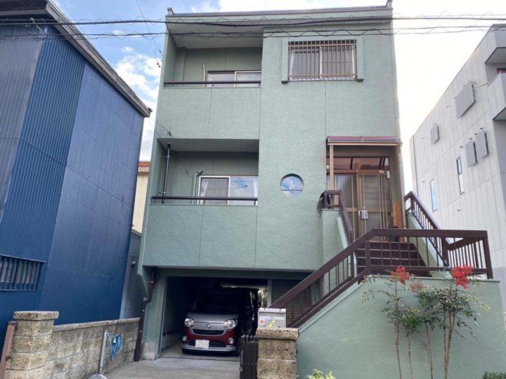 名古屋市北区K様邸外壁塗装工事・基礎コンクリート補修工事