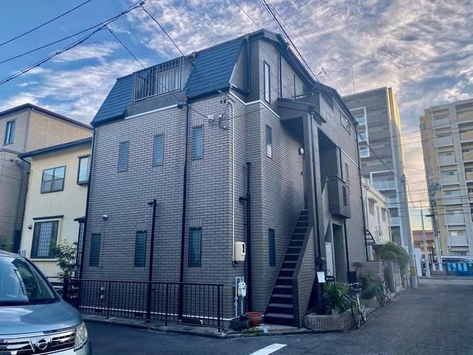名古屋市北区M様邸外壁塗装工事・屋根塗装工事・コーキング打ち増し工事・ベランダ防水工事