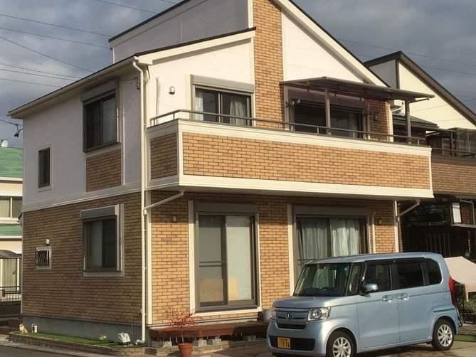 春日井市S様邸外壁塗装工事・コーキング打ち替え、打ち増し工事・屋根塗装工事・ベランダ防水工事