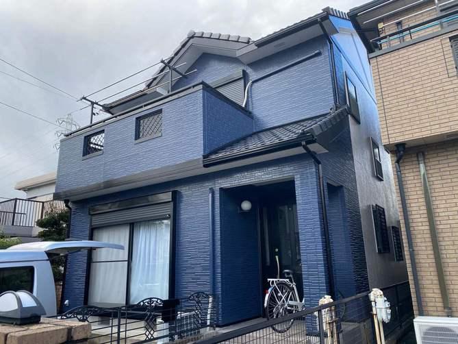 春日井市S様邸外壁塗装工事・コーキング打ち替え 打ち増し工事・ベランダ防水工事