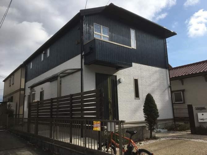 名古屋市守山区F様邸外壁塗装工事・コーキング打ち替え、打ち増し工事・屋根塗装工事・ベランダ防水工事