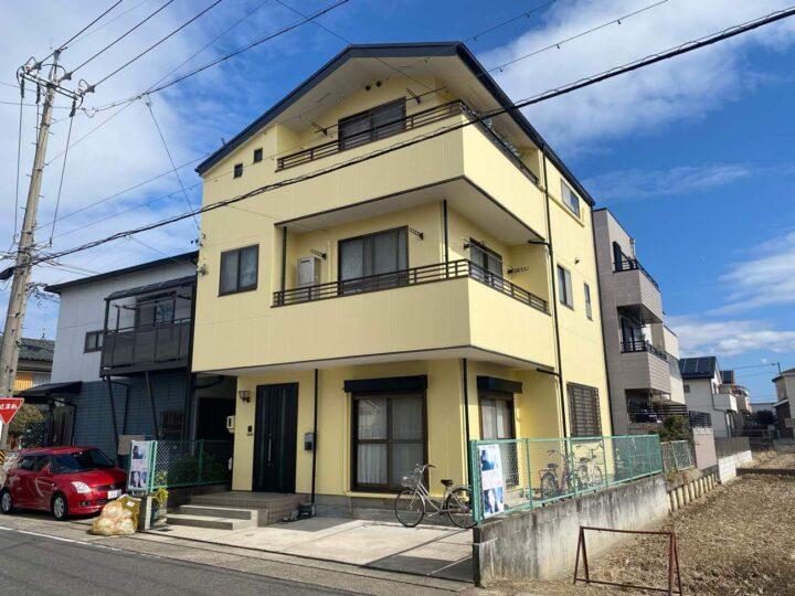 名古屋市北区N様邸外壁塗装工事・屋根塗装工事・コーキング打ち替え、打ち増し工事