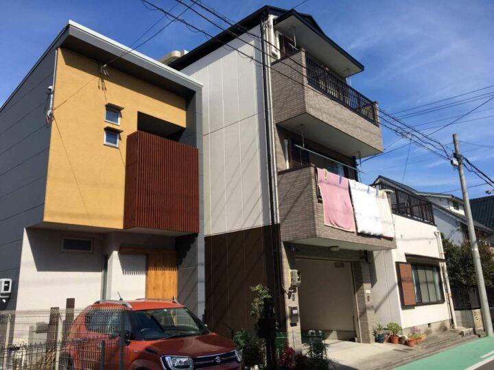 名古屋市北区M様邸外壁塗装工事・屋根塗装工事・ベランダ防水工事