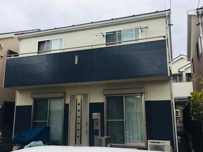 春日井市T様邸外壁塗装工事・屋根塗装工事・コーキング打ち替え、打ち増し工事