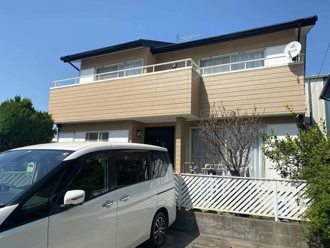 名古屋市北区S様邸外壁塗装工事・コーキング打ち替え、打ち増し工事・ベランダ防水工事・屋根重ね葺き工事