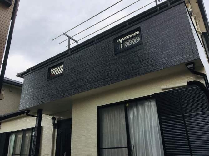 春日井市K様邸外壁塗装工事・コーキング打ち替え、打ち増し工事・ベランダ防水工事・屋根修繕工事