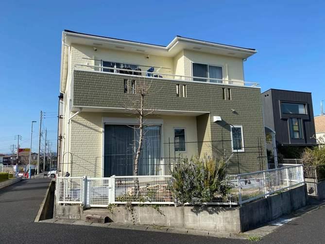 名古屋市守山区I様邸外壁塗装工事・屋根塗装工事・コーキング打ち替え、打ち増し工事