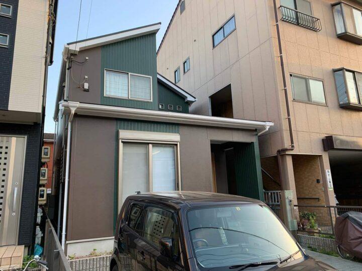 春日井市M様邸外壁塗装工事・屋根塗装工事・コーキング打ち替え、打ち増し工事
