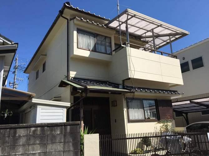 名古屋市守山区K様邸外壁塗装工事・屋根修繕工事
