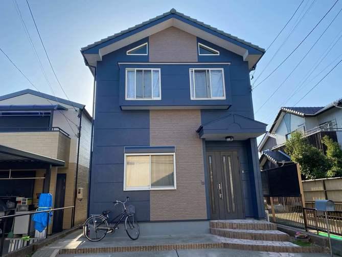 西春日井郡N様邸外壁塗装工事・コーキング打ち増し工事・ベランダ防水工事