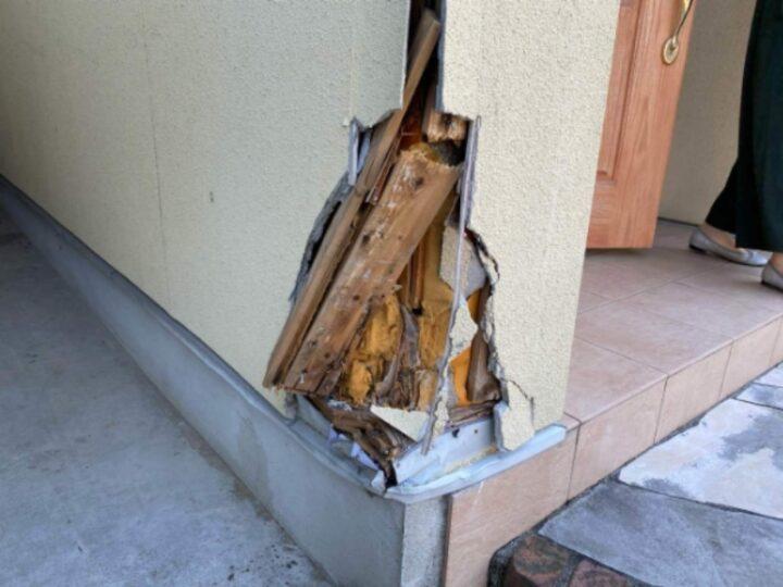 外壁貼り替え 施工前