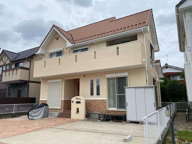 春日井市T様邸外壁塗装工事・ベランダ防水工事