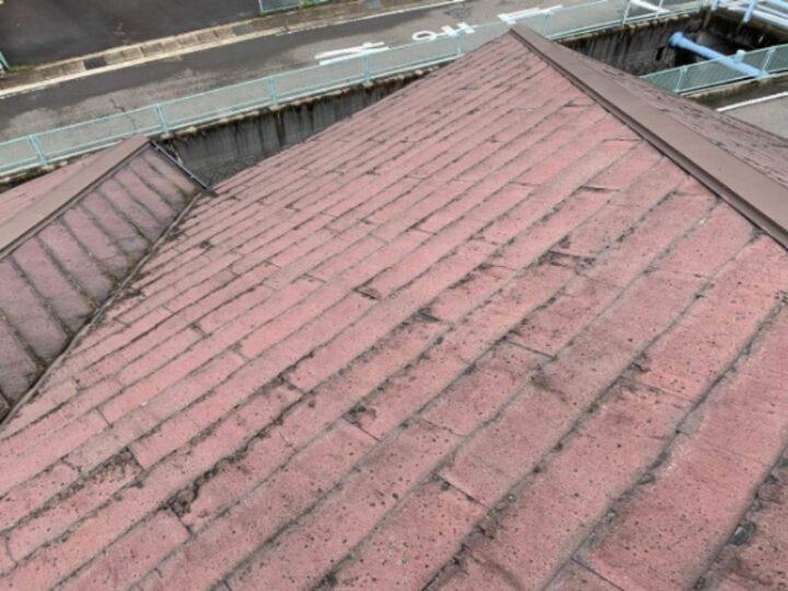 屋根重ね葺き 施工前