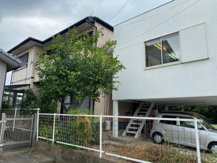 春日井市M様邸外壁塗装工事・コーキング打ち増し工事・屋根塗装工事・車庫塗装工事