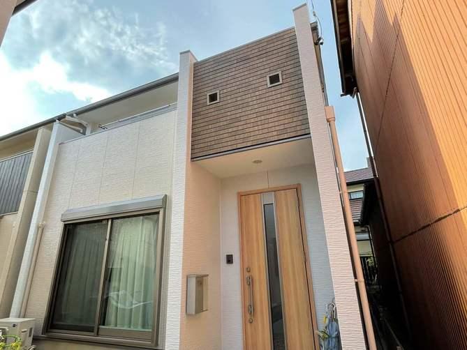 春日井市H様邸外壁塗装工事・コーキング打ち替え、打ち増し工事・屋根塗装工事